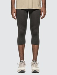 Asics Reigning Champ X 3 4 Compression Tights Grey