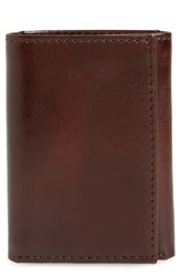 Johnston And Murphy Leather Wallet Brown