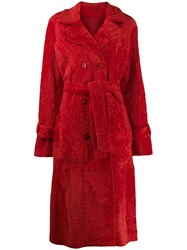 Drome Textured Trench Coat