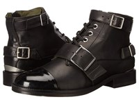 The Kooples Grained Embossed Leather Black Women's Boots