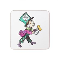 Mrs Moore's Vintage Store Mad Hatter Coaster