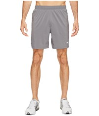 Puma Core Run 7 Shorts Quiet Shade Men's Shorts Gray