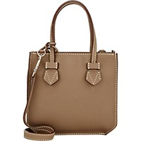 Moreau Women's Bregancon Top Zip Mini Tote Tan