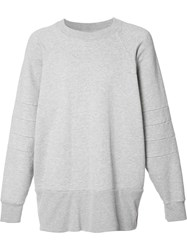 The Squad Oversized Sweatshirt Grey