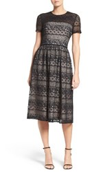 Maggy London Women's Lace Midi Dress