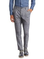 Saks Fifth Avenue X Traiano Savini Pleated Trousers Grey