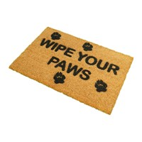 Artsy Doormats Wipe Your Paws Door Mat