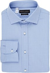 Ralph Lauren Black Label End On End Dress Shirt Blue