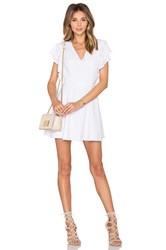 Lovers Friends X Revolve The Roma Fit And Flare Dress White