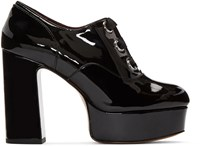 Marc Jacobs Black Patent Leather Beth Heels