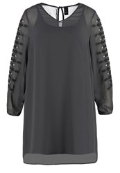 Adia Summer Dress Dark Iron Dark Grey