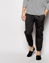 Pull And Bear Pullandbear Cuffed Trousers Grey