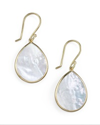 Ippolita Small Teardrop Earrings Mother Of Pearl Mother Of Pearl