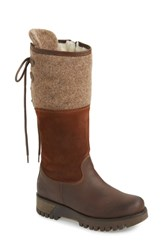 Bos. And Co. 'Ginger' Waterproof Mid Calf Platform Boot Espresso Suede