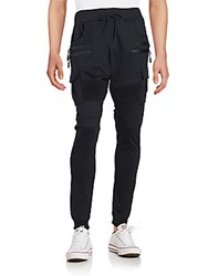 American Stitch Cargo Jogger Pants Black
