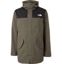 The North Face City Breeze Dryvent Hooded Parka Green