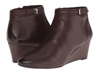 Naturalizer Quintana Bridal Brown Leather Women's Boots