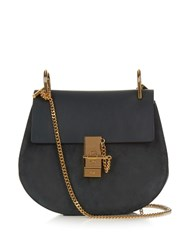 Chloe Drew Small Suede And Leather Cross Body Bag