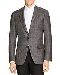 The Men's Store At Bloomingdale's Grey Check Slim Fit Sport Coat