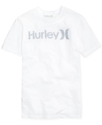 Hurley One And Only Push Through T Shirt Htr Black