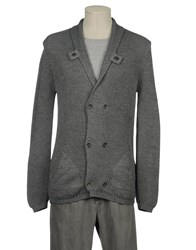 Relive Knitwear Cardigans Men Dove Grey