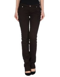 Nwy Never Without You Denim Pants Dark Brown