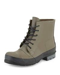 Original Short Boot Hunter Green Hunter Boot Swamp Green Black