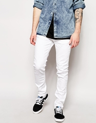 Selected White Skinny Jeans