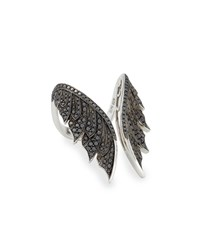 Magnipheasant Black Diamond Open Wing Ring Women's Stephen Webster