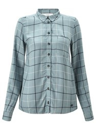 Numph Bjarma Check Shirt Slate