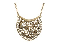 Lucky Brand Lace Pendant Necklace Gold Necklace