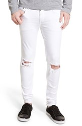 Rag And Bone Men's Rag And Bone Standard Issue 'Fit 1' Skinny Fit Jeans Aged White