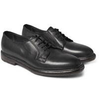 Paul Smith Boyd Scotch Grain Leather Derby Shoes Black