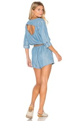 Rvca Mobile Romper Blue