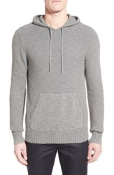 Michael Stars Men's Textured Jersey Hoodie