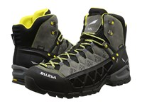 Salewa Alp Flow Mid Gtx Smoke Yellow Men's Shoes