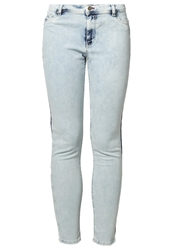 Amy Gee Slim Fit Jeans Blue