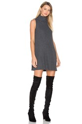 Michael Stars Cowl Shift Dress Charcoal