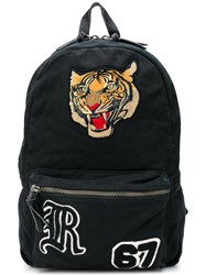 Polo Ralph Lauren Tiger Patch Backpack Black