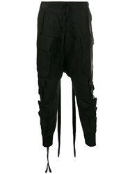 Unravel Project Utility Trousers Black