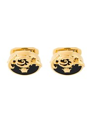 Versace Medusa Filigree Cufflinks Metallic