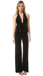 Bec And Bridge Midnight Sage Jumpsuit Black