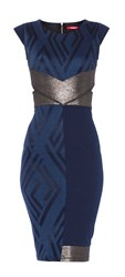 Maiocci Collection Party Dress Blue