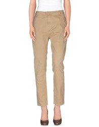 Cycle Trousers Casual Trousers Women Beige