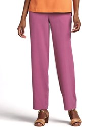 Go Silk Petite Solid Pant Watermelon