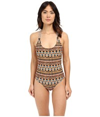 Volcom Tradewinds One Piece Grapefruit Women's Swimsuits One Piece Multi