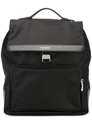 Dolce And Gabbana Square Backpack Black