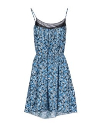 Ndegree 21 Short Dresses Azure