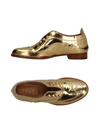L'f Shoes Loafers Gold