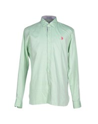 U.S. Polo Assn. U.S.Polo Assn. Shirts Shirts Men Light Green